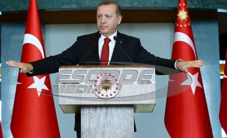Ερντογάν από τα Κατεχόμενα: Η Κύπρος είναι εθνική υπόθεση για την Αγκυρα