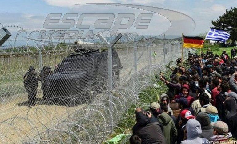 Στην Ειδομένη οι πρώτοι Γερμανοί και άλλοι συνοριοφύλακες της Frontex από σήμερα