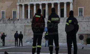 Και πάλι στους δρόμους οι πυροσβέστες -Συγκέντρωση έξω από τη Βουλή
