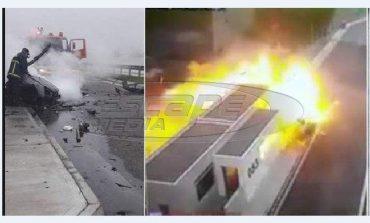 Γιος γνωστού επιχειρηματία ο οδηγός που προκάλεσε το πολύνεκρο τροχαίο στην Αθηνών- Λαμίας-βίντεο-