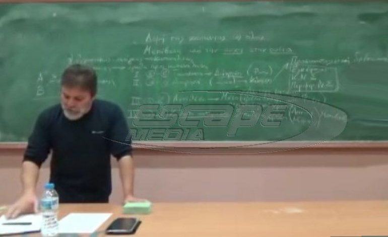 Συγκλονιστική ομιλία: Μάγκας καθηγητής καταρρίπτει όλη την προπαγάνδα για τους ομοφυλόφιλους