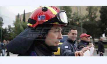 Πανελλαδικό συλλαλητήριο Πυροσβεστών στο Σύνταγμα
