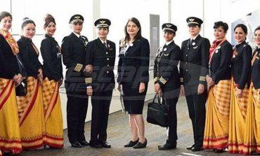 Γυναικεία υπόθεση: Η πρώτη παγκόσμια πτήση με αποκλειστικά «θηλυκό» πλήρωμα