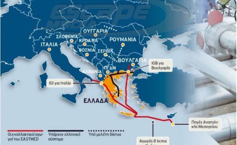 Η «ανάσταση» της Ελλάδας ξεκίνησε – Αυτοί είναι οι αγωγοί που θα περάσουν από τη χώρα μας