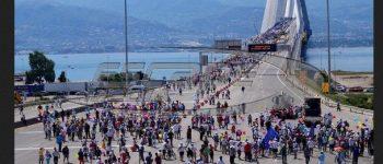 Η πορεία κατά της ανεργίας στην Γέφυρα Ρίου-Αντιρρίου-video-