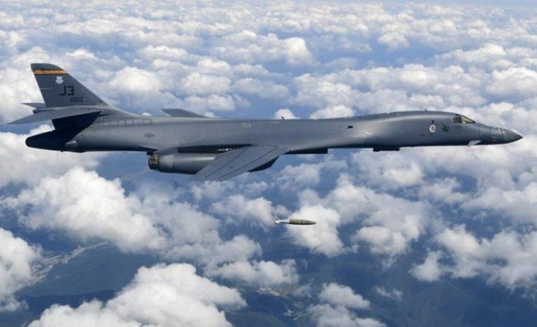 ΕΚΤΑΚΤΟ: Αμερικανικά βομβαρδιστικά B-1B πέταξαν πάνω από την κορεατική χερσόνησο και προσομοίωσαν στόχους της Πιονγκγιάνγκ – Ο Τράμπ ενημερώθηκε για τις επιλογές αντίδρασης σε μία επίθεση από την Βόρεια Κορέα