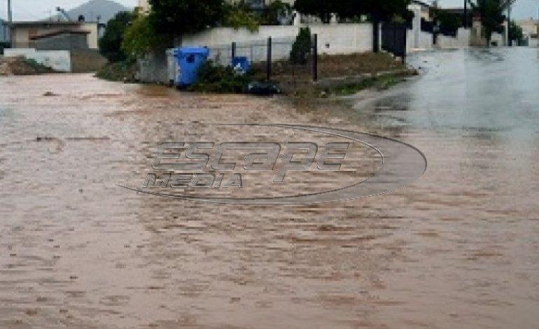 Η «Ευρυδίκη» «βούλιαξε» Ναύπλιο και Άργος – Σφοδρές καταιγίδες όλη την εβδομάδα ,