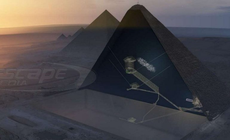 Αποκαλύφθηκε το τελευταίο μυστικό της πυραμίδας του Χέοπα