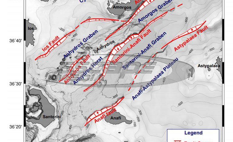 «Βόμβα» γεωλόγων: 5 ρήγματα στο Αιγαίο μπορούν να «δώσουν» σεισμούς άνω των 7 Ρίχτερ!