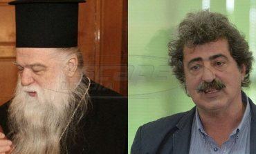 Αμβρόσιος: «Είσαι αγράμματος και άθεος - Πολάκης: «Δεν μου χρειάζεται η συγχώρεσή σου»