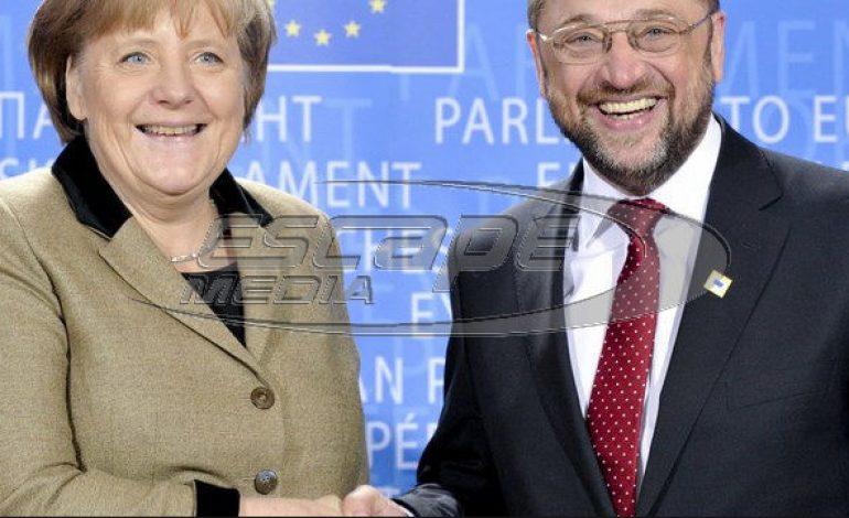 «Μία από τα ίδια στην Γερμανία»: Το δίδυμο Μέρκελ και Σουλτς στο «τιμόνι» της χώρας