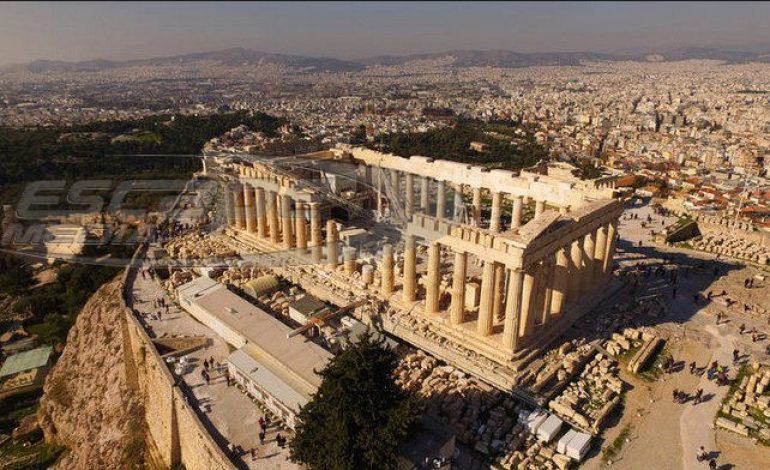 Έκλεισε η Ακρόπολη – Αποπνικτική η ατμόσφαιρά στην Αθήνα
