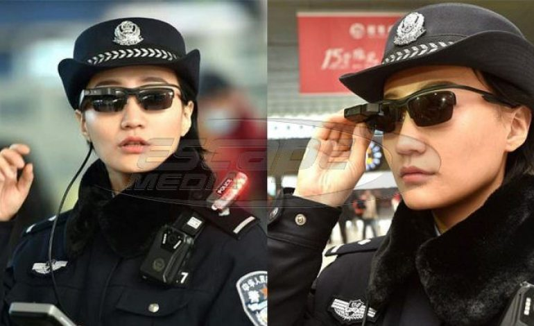 Η αστυνομία στην Κίνα φοράει ειδικά γυαλιά ηλίου που αναγνωρίζουν τους υπόπτους αμέσως
