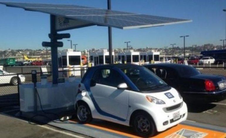 Ηλιακός σταθμός φόρτισης ηλεκτροκίνητων οχημάτων στην Τήλο