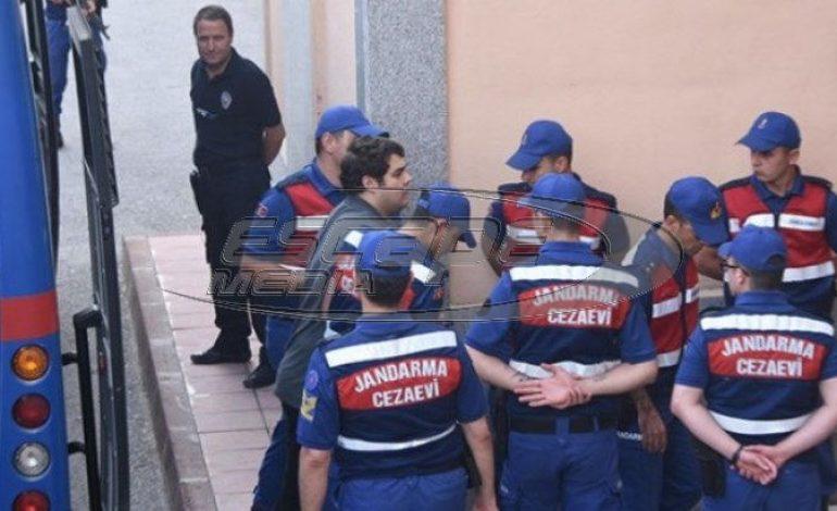Απορρίφθηκε και το τρίτο αίτημα αποφυλάκισης των Ελλήνων αξιωματικών – το βίντεο από την μεταφορά τους