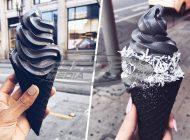 Κίνδυνος από το μαύρο παγωτό που έχει γίνει μόδα - Πωλείται και στην Ελλάδα