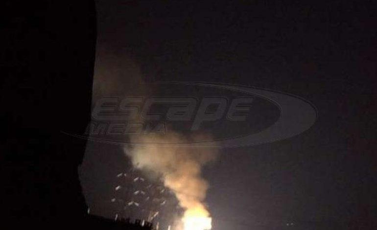 Εκρήξεις σε πυλώνα της ΔΕΗ στο Κρυονέρι