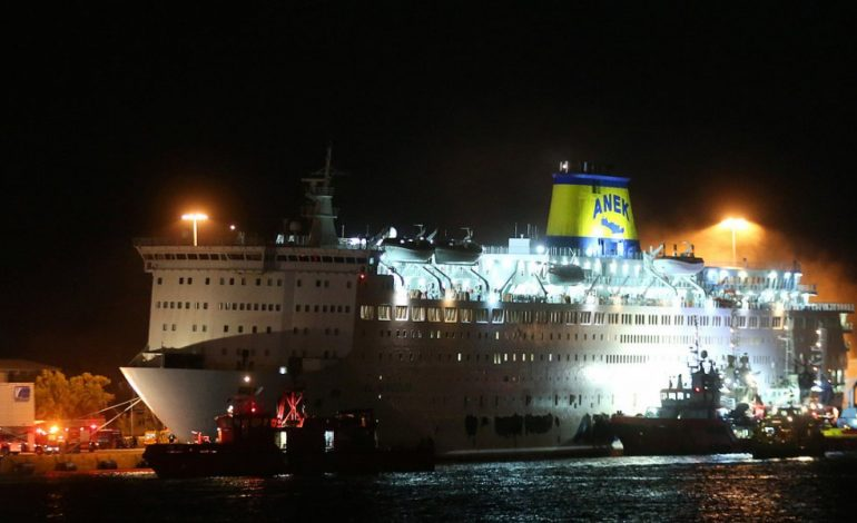 Βίντεο: Οι πρώτες εικόνες από το κατεστραμμένο γκαράζ του πλοίου «Ελ. Βενιζέλος» (φωτό)