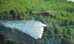 Μπαράζ πυρκαγιών στη χώρα -  Όλα τα πύρινα μέτωπα