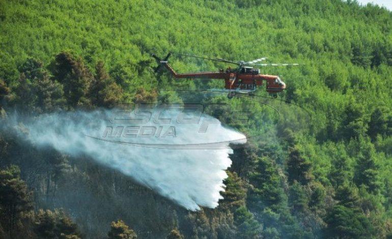 Μπαράζ πυρκαγιών στη χώρα –  Όλα τα πύρινα μέτωπα