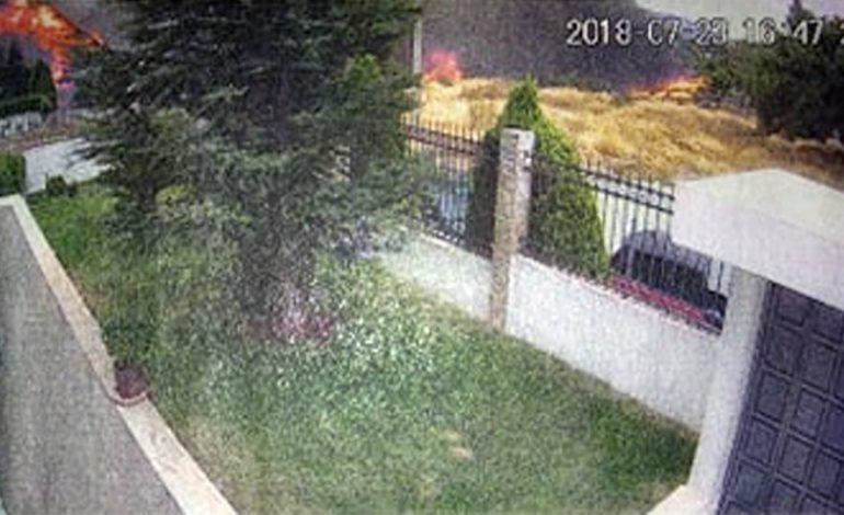 Βίντεο-ντοκουμέντο: Η στιγμή της έναρξης της φωτιάς της 23ης Ιουλίου