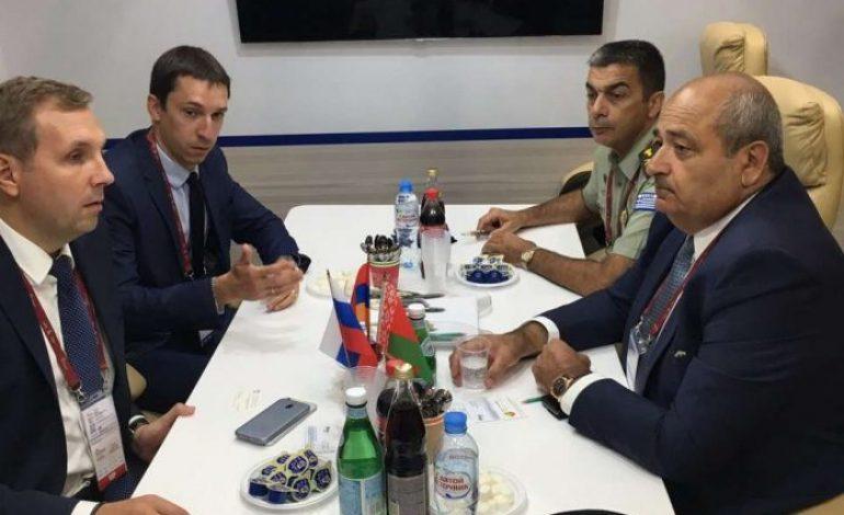 Ο γενικός διευθυντής της ΓΔΑΕΕ στη Μόσχα για την υποστήριξη των ρωσικών οπλικών συστημάτων των ΕΔ