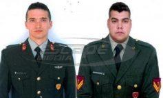 Στη Θεσσαλονίκη θα βρίσκονται μετά τα μεσάνυχτα οι δύο Έλληνες στρατιωτικοί