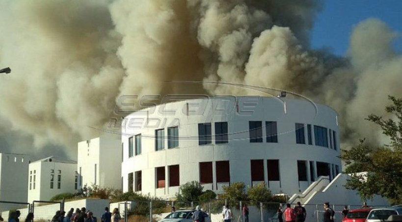 Κλειστά σχολεία στο Ηράκλειο εξαιτίας της πυρκαγιάς -Εκτακτα μέτρα για τη στέγαση των φοιτητών από τον Γαβρόγλου