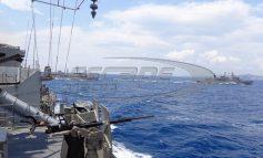 Απλώνεται ο Ελληνικός στόλος: «Σφραγίζει» το κεντρικό Αιγαίο το ΠΝ και στέλνει μήνυμα στην Αγκυρα