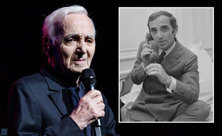 Πέθανε ο θρυλικός τραγουδιστής Charles Aznavour