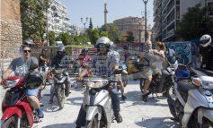 Πορεία ντελιβεράδων στην Θεσσαλονίκη
