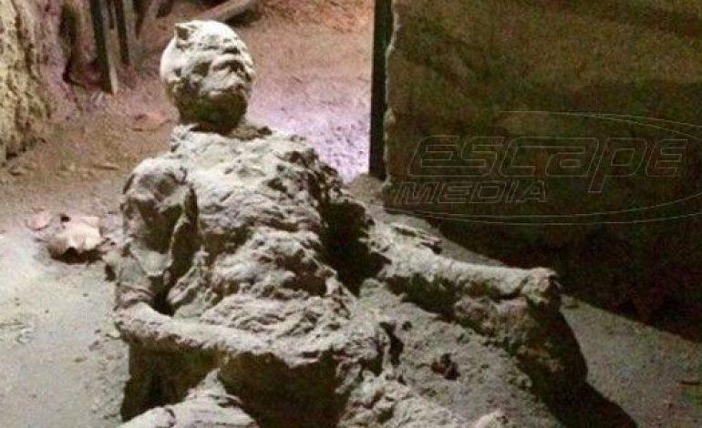 Αυτός ο νεκρός της Πομπηίας έγινε viral για κάτι που δεν έκανε