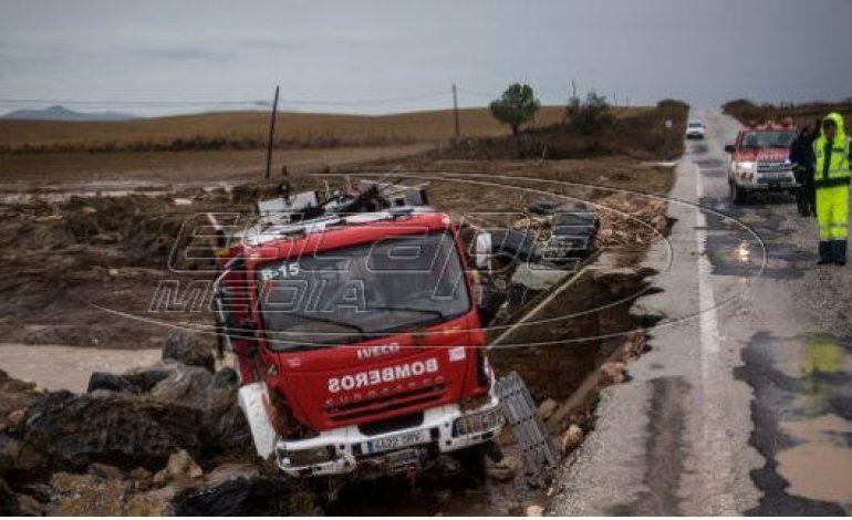 Ισπανία: Τέσσερις νεκροί από τις πλημμύρες στις Αστούριες