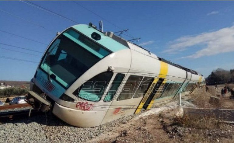 Εκτροχιάστηκε τρένο στο Λιανοκλάδι – Αποκαλυπτικές εικόνες