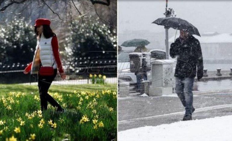 Φεβρουάριος: Ρεκόρ ζέστης στην Αγγλία – Χιόνια στην Ελλάδα
