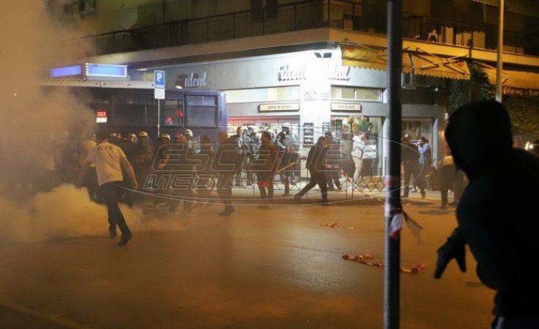 Ένταση έξω από το τουρκικό προξενείο στη Θεσσαλονίκη