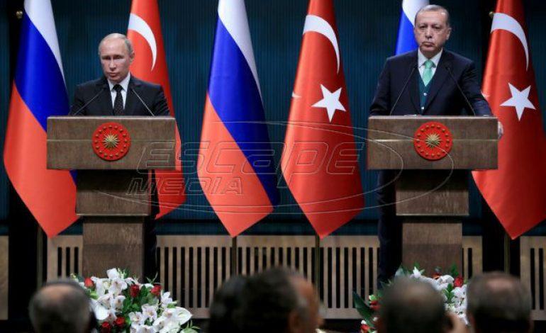 Πούτιν – Ερντογάν: Εφ' όλης της ύλης συνάντηση στις 8 Απριλίου