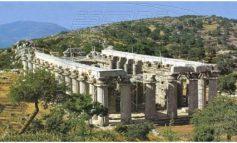 Ναός Πυξίδα – Το θαύμα των αρχαίων επιστημών. Περιστρέφεται γύρω από τον άξονα του κατά 50,2 δευτερόλεπτα της μοίρας.