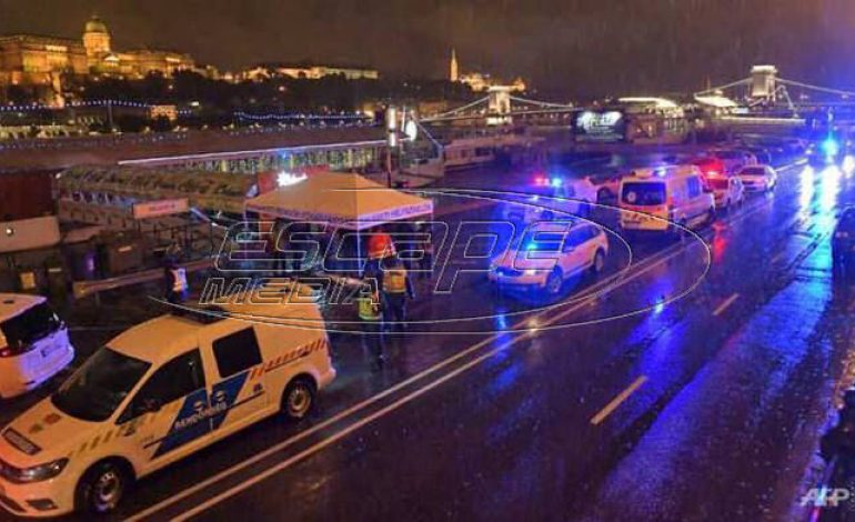 Βουδαπέστη: Επτά νεκροί από ναυάγιο πλοίου στον Δούναβη