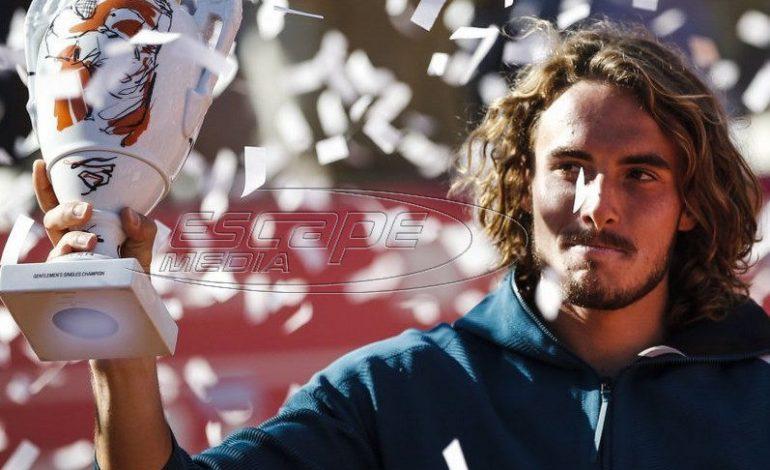 Πρίγκιπας στο Εστορίλ ο Τσιτσιπάς, κατέκτησε τον τρίτο τίτλο του