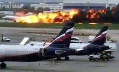 Τραγωδία στη Μόσχα: Στους 13 οι νεκροί από τη φωτιά σε αεροπλάνο - Επιβάτες αγνοούνται