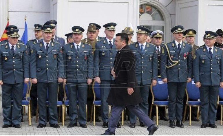 Άλλαξε όνομα ο στρατός της Βόρειας Μακεδονίας