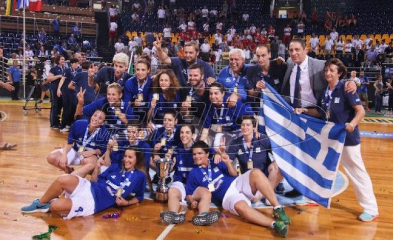 «Dream Team» η εθνική κωφών γυναικών στο μπάσκετ -Στην κορυφή του κόσμου με χρυσό μετάλλιο!