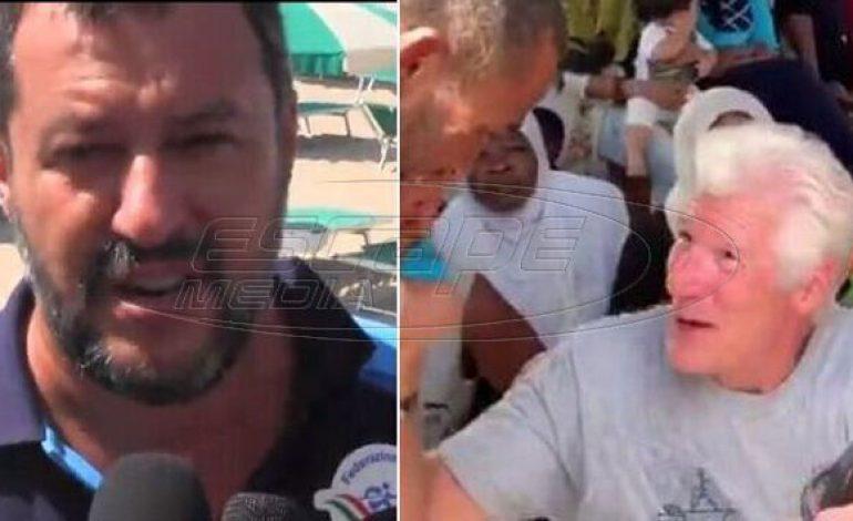 Σαλβίνι σε Ρίτσαρντ Γκιρ: Να πάρεις τους μετανάστες στη βίλα σου