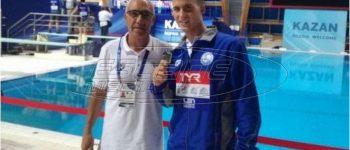 Παγκόσμιος πρωταθλητής στα 400μ μικτή ατομική με παγκόσμιο ρεκόρ ο Απόστολος Παπαστάμος