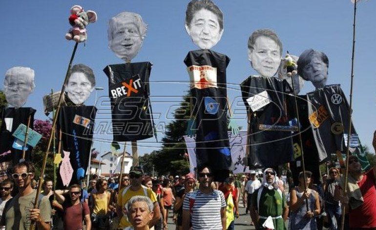 ΚΟΣΜΟΣ Γαλλία: Διαδηλώσεις με κεντρικό σύνθημα «Όχι στην G7»