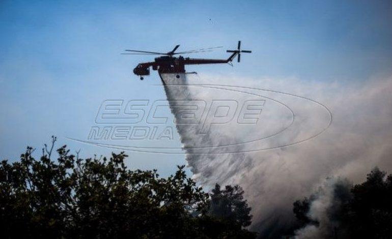 Μεγάλη φωτιά στη Σάμο – Σε εξέλιξη πύρινα μέτωπα σε διάφορες περιοχές της χώρας
