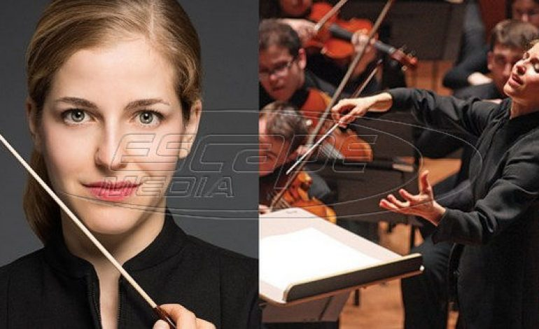 Η 38χρονη Ελληνίδα μαέστρος που έγραψε ιστορία στο μεγαλύτερο φεστιβάλ κλασικής μουσικής στον κόσμο