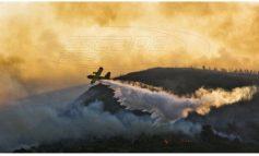Μεγάλη φωτιά στην Κέρκυρα-Πλησιάζει σπίτια