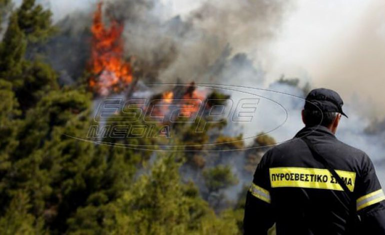 Οριοθετήθηκε η φωτιά στο Μαραθώνα, σε ύφεση στο Ζούμπερι – Νέο μέτωπο στην Κεφαλονιά
